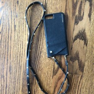 Holstere Leather iPhone Crossbody iPhone Case